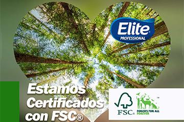 Estamos certificados con FSC